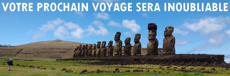 Promotion Ile de Pâques voyage Chili